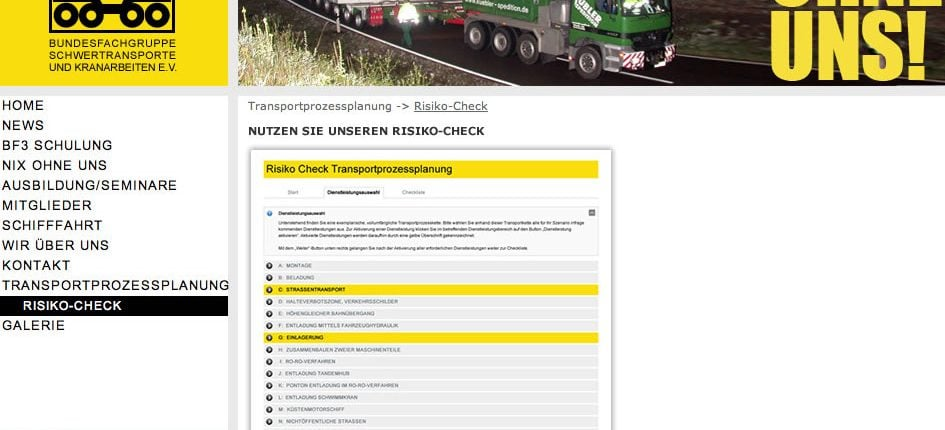 Konzeption BSK Risiko-Check-Tool