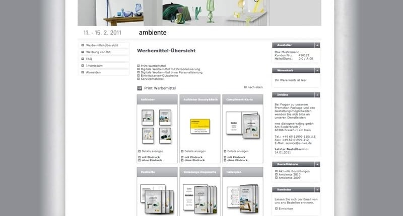 Multishopsystem mit Web-to-Print